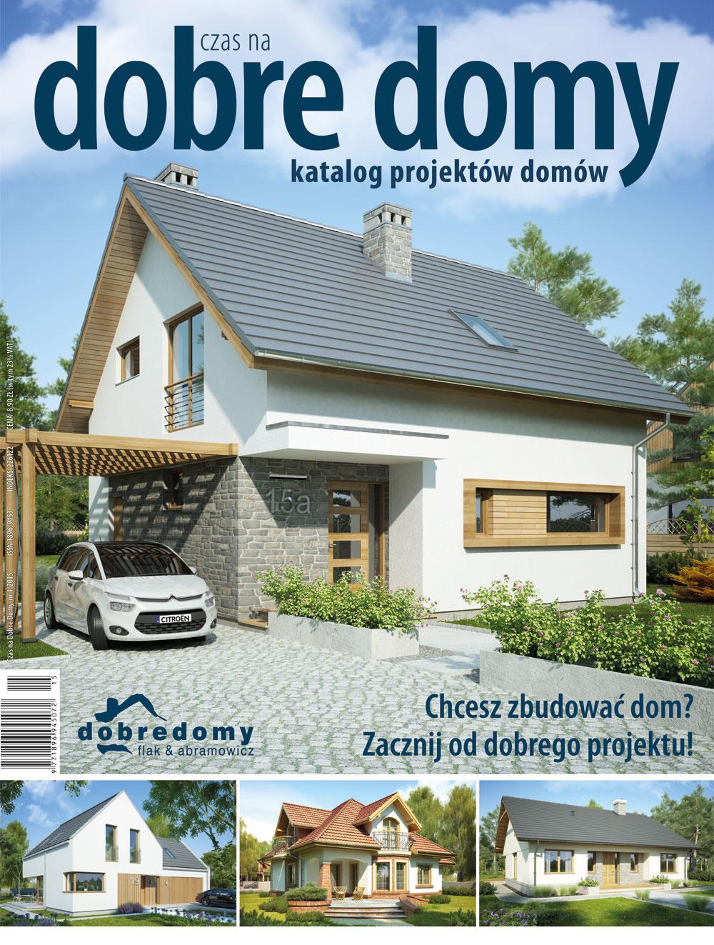 Czas Na Dobre Domy - półrocznik - prenumerata półroczna już od 8,90 zł