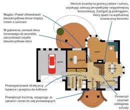 Dom z dwoma wykuszami i gankiem - parter po modernizacji