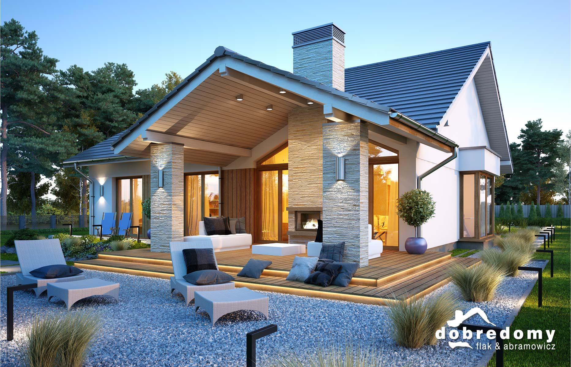 Projekty domów piętrowych - Dobre Domy Flak & Abramowicz