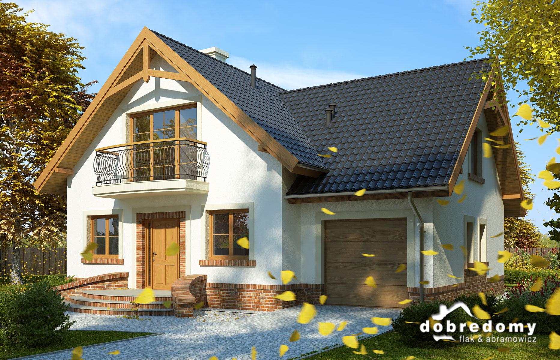 Projekt Domu A Oświetlenie Dobre Domy Flak Abramowicz