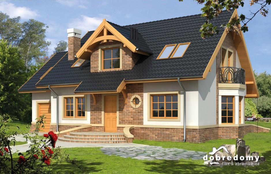 Dom jak malowany (foto: makieta projektu Miły)