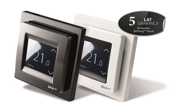 DEVIreg™ Touch, czyli najchętniej wybierany termostat do ogrzewania podłogowego