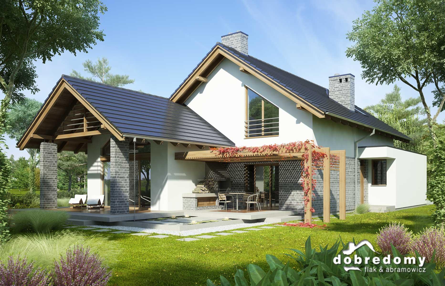 Porównanie projektów domów na wąską działkę