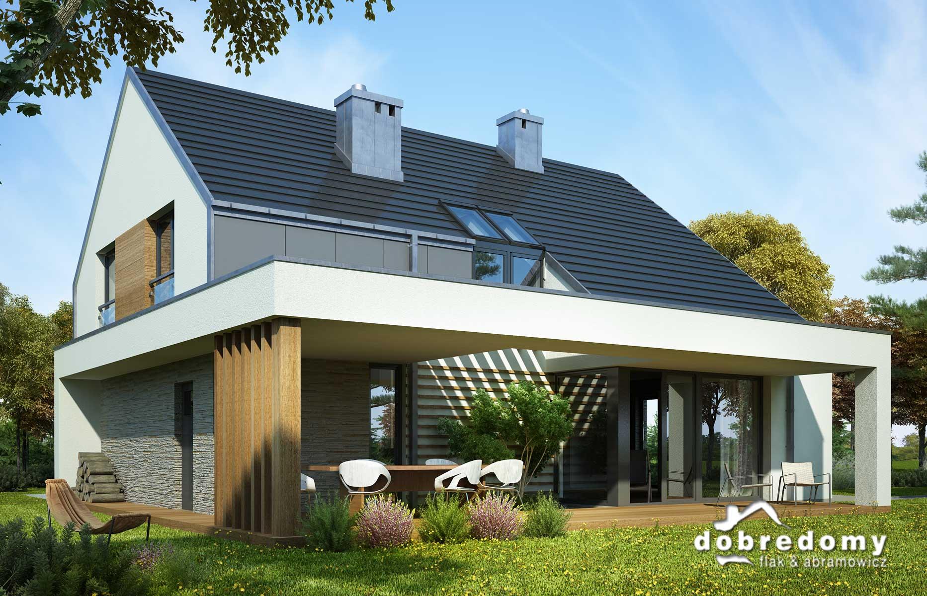 Jakich dodatków do projektu domu możesz oczekiwać?
