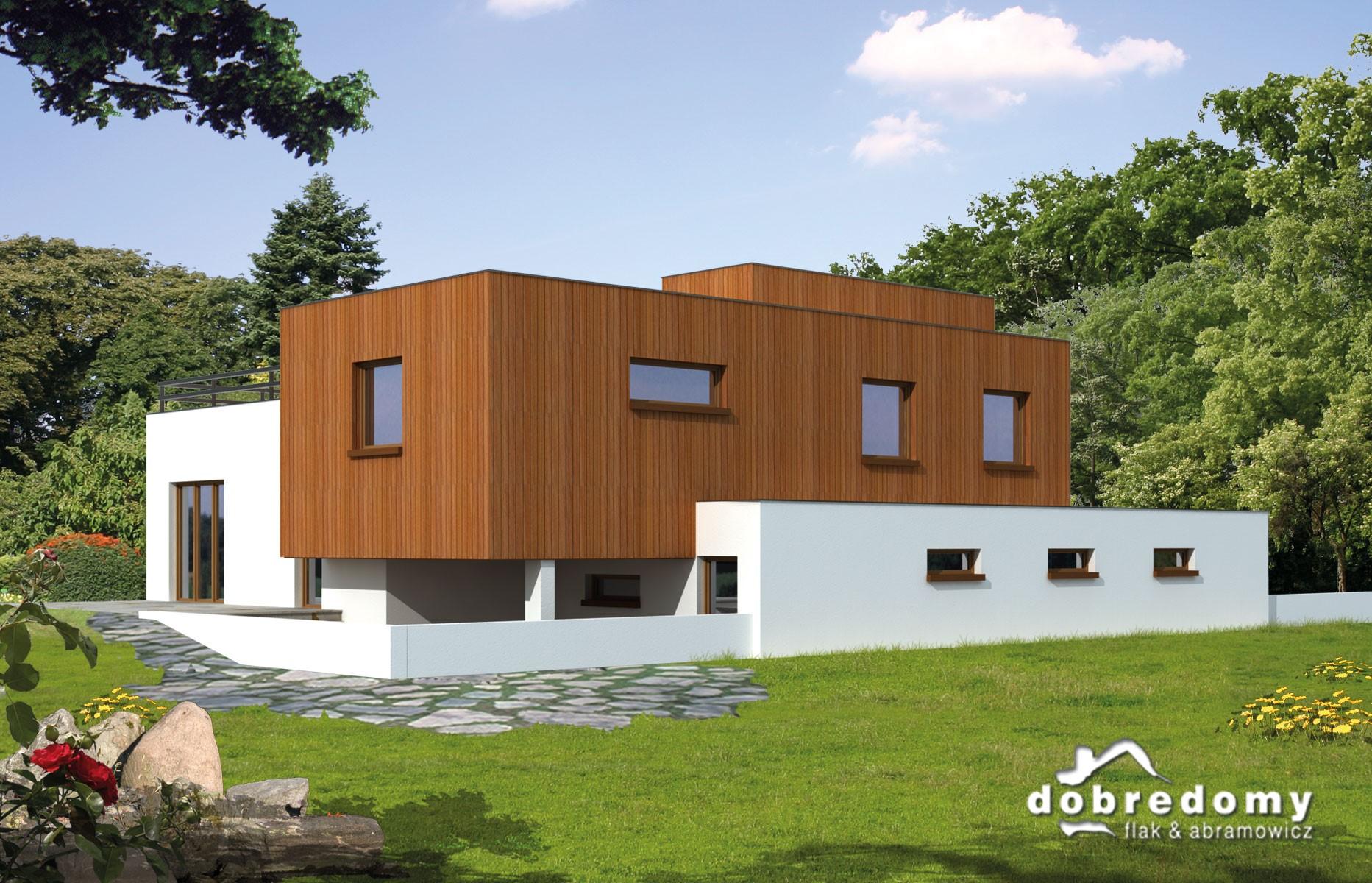 Nowoczesny dom z dachem płaskim. Co warto o nim wiedzieć?
