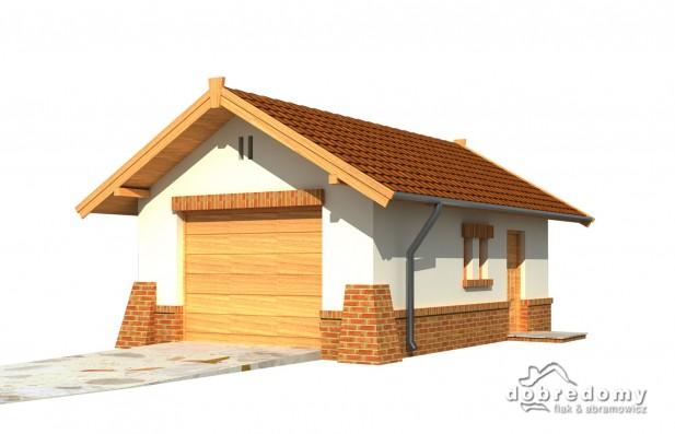 Dobre Domy, projekt - garaż G1