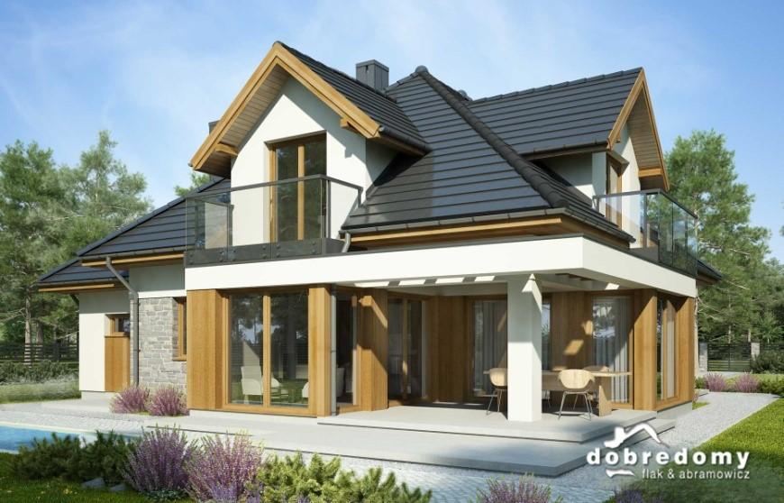 Dom z drewna czy z drewnianymi wykończeniami na elewacji?