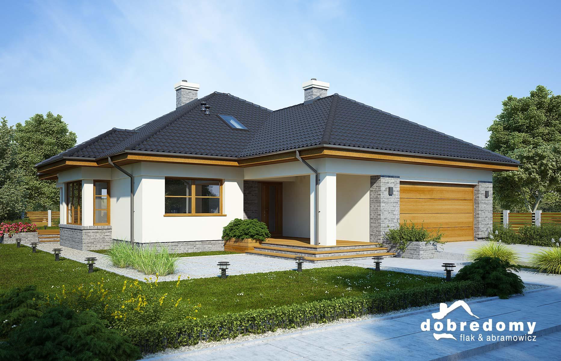 Nowe projekty domów parterowych pracowni Dobre Domy
