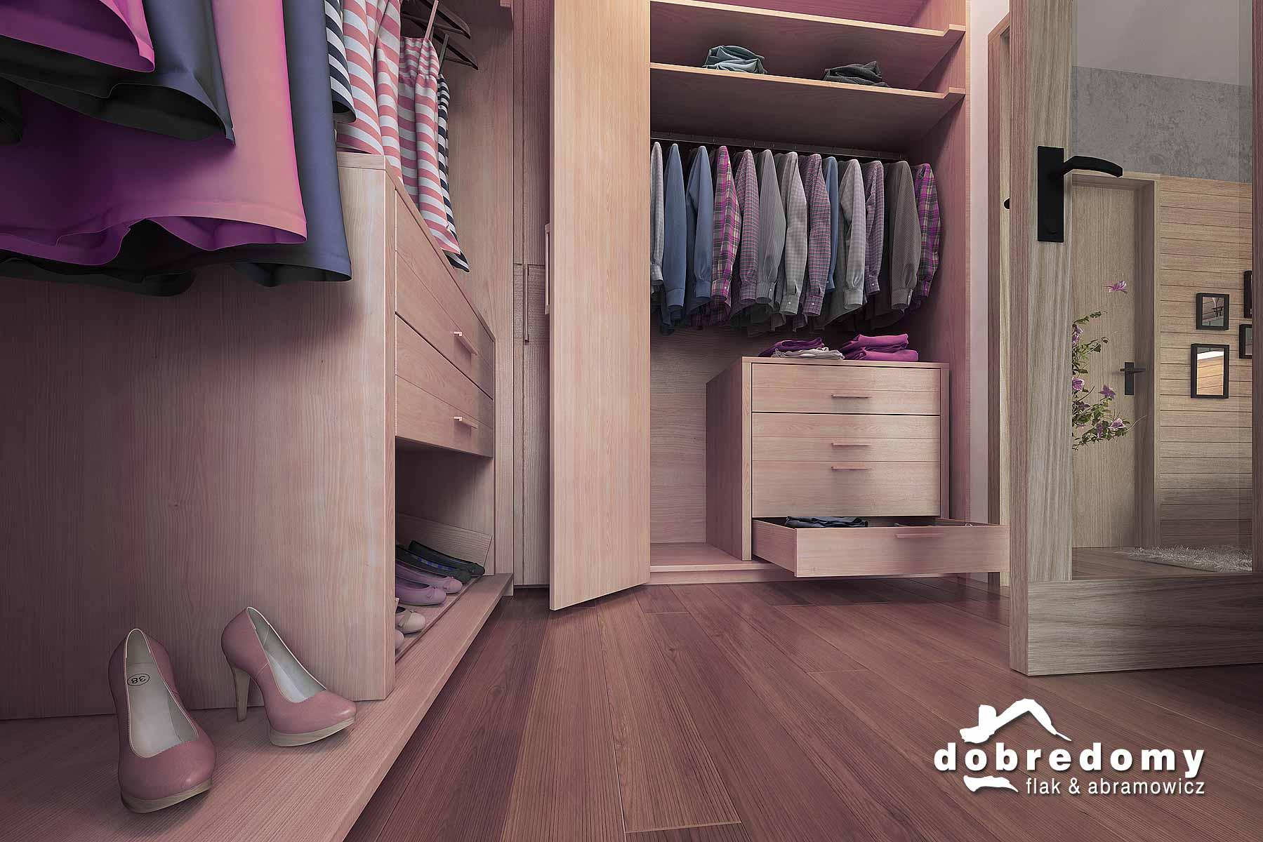 Gdzie najlepiej zaaranżować garderobę?
