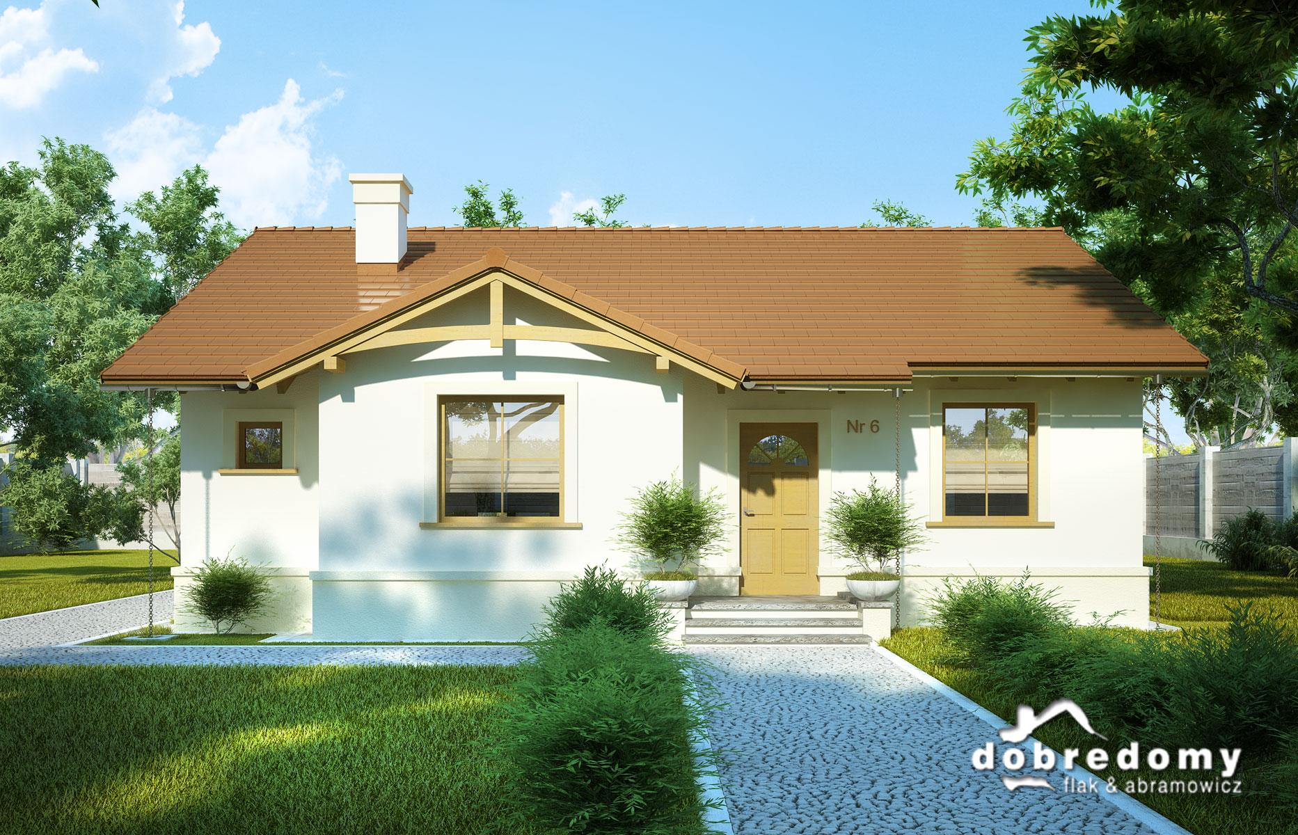 Funkcjonalny dom dla osoby starszej i o ograniczonej sprawności