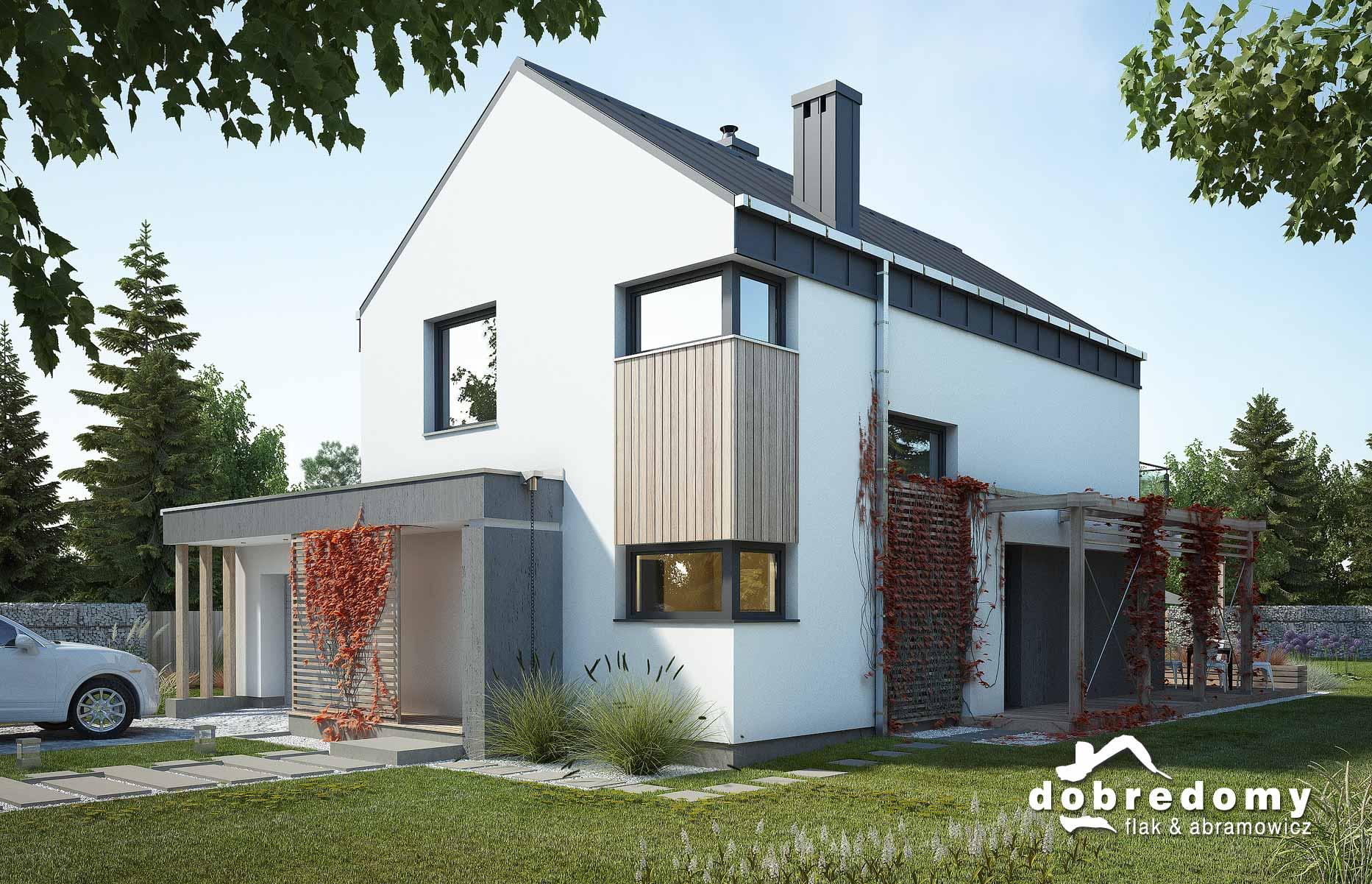 Najnowsze trendy w budowie domów – nowe projekty pracowni Dobre Domy