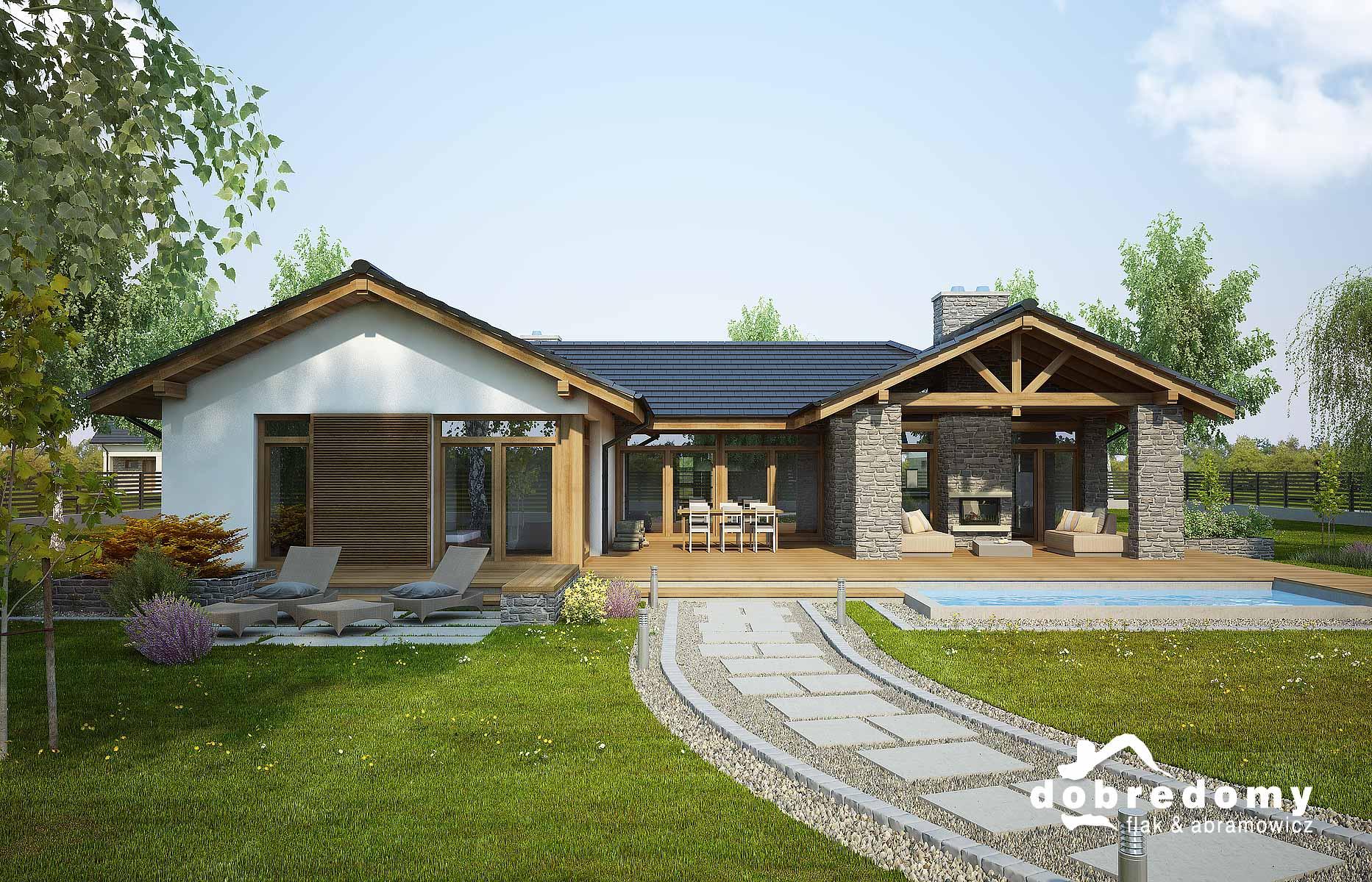 Projekty domów jednorodzinnych z basenem – czy warto?