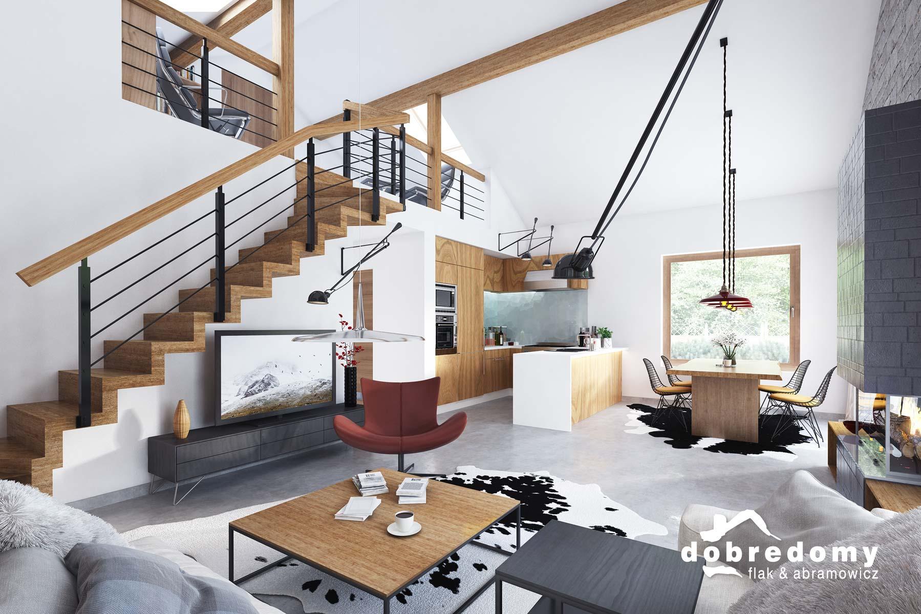 Funkcjonalna strefa dzienna w domu – urządź dom po swojemu!